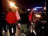 Ferguson Protesters Attack Young White Man Who Wants To Go Home