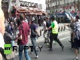 France: Pro-Palestine Protesters And Riot Police Clash In Paris