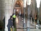Footage Captures The Shooting In Parliament Building