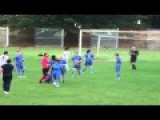 Female Goalkeeper Tries To Attack Referee And Removes Top