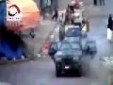Fighting On The Streets Of Sanna Yemen