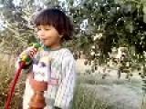 Four Year Old Boy Smokes Shisha