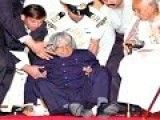 FORMER INDIAN PRESIDENT SUDDEN DEATH WHILE GIVING SPEECH
