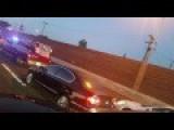 Freeway Semi Accident