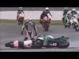 Funny Crash MotoGP