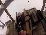 Firing A British Sten Gun