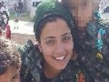 FEMALE KURDISH FIGHTER Blows Up ISIS Fighters In Suicide Blast Rather Than Become Prisoner