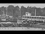 Film-Like Photographic Sequence Of People Boarding A Steamer On The James River In Virginia During The American Civil War
