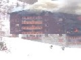 Fire At French Ski Resort Of Val D'Isere