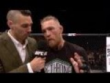 Fight Night Dublin: Conor McGregor Octagon Interview