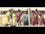 Fight In An Asian Football Game