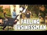 Falling Businessman Prank