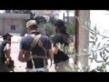 FSA And SAA Clash In Idlib Area Shooting From Street Corners