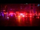 Footage Of Emergency Crews Suppressing Underground Electrical Fire