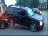 FULL VIDEO Of Repo, Black Woman Busting Out Windows