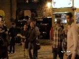 Fight : 1 On 1 Turns Into Street Brawl Downtown Austin TX 2014