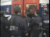 France: French Police And Africains Do An Harlem Shake