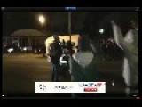 Ferguson Missouri Tear Gas Shot Into Crowd November 24 2014 @ 9:30 Pm