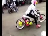 Fastest Motorcycle Drag By Girls In Palembang