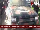 FSA Weapons And Vehicles Seized By Syrian Arab Army And National Defence Force In Jobar