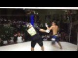 Fighter Gets Soccer Kicked And Then Fights Me... The REFEREE!
