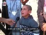 Fanatical Kurdish Boy During Siege Of Kobane