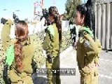 Female Arab Israeli Soldier - I Came To Serve My Country And My Home