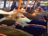 Fight On The Bus Liverpool