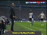 Funny! Pep Guardiola Slaps Jérôme Boateng - Schalke 0:4 Bayern Munich HD