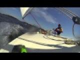 Fast Sailing And Boat Capsize HD POV