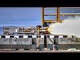 Fastest Maglev In The World: USAF Rocket Maglev 633 MPH World Record Run