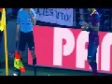 Fan Throws Banana At Dani Alves