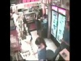 Fight In A Pizza Shop
