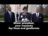 Former Belgian Minister Elio Di Rupo's Speech During Visit Of President Obama 26 Mar. 2014