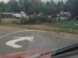 Flipped Semi Trailer