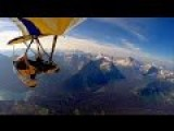 Flying An Ultralight Trike Over Glacier National Park
