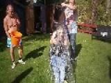 Forfar Girl's Ice Bucket Challenge