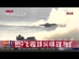 Footage Of A Missile Fire Between South And North Korean Forces ?