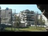 FSA Shelling SAA Held Territory In Aleppo With Mortars And Rockets