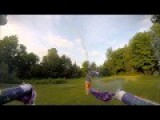 FPV - Drone Turned Gunship With Fireworks..funny!