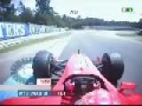 F-1 Michael Schumacher - Old Hockenheim 2001