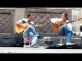 Flamenco Guitar. Barcelona Street Music HD