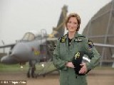 Female Top Gun Leads UK's First Iraq Combat Mission