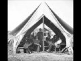 Film-Like Photographic Sequence Of Union Soldiers In A Tent During The Civil War