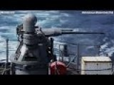 FIRING ALL BIG MOUNTED GUNS From USS PC 10 Firebolt !