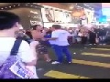 Funny Belly Fight In Hong Kong