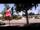 Flying Mexican Flag Is Unamerican