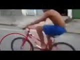 Funny Cycle Accident With Small Kid !!!