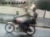 Funny Motorcycle Stunt Goes Wrong