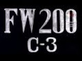 FW-200 C-3! WW II Era Soviet Training Film For Pilots